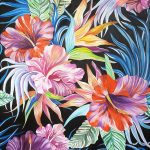Flors tropicals de colors - 100 x 80 cm © Pere Oller